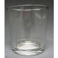"2.5 "" Votive Cup Plain Glass (SHIPS BY PALLET ONLY)"
