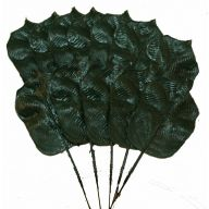 Background Leaf Pick - Dark Green ( 576 PC Per Box / Sold by the Box Only )