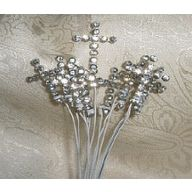 Rhinestone Cross Sprays