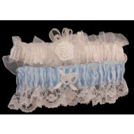 Keep & Throw Bridal Garters Set
