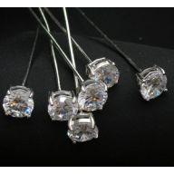 8.6mm Diamond Crystal Pin ( PK / 6 )