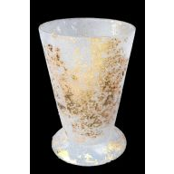 "4.5 "" Velvet Gold J Cup / Candle Holder"
