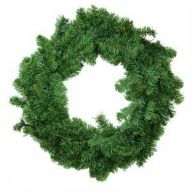 """24 """" Canadian Pine Wreath 220 Tips"""