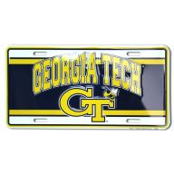 "6 X 12 "" Georgia Tech License Plate"