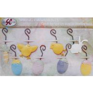 8 Assorted Easter Hanging Ornaments