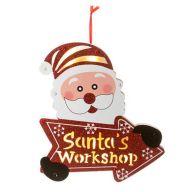 Light Up Santa's Workshop LED