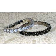 Single Row Crystal Bracelet