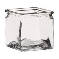 5X5X5 SQUARE GLASS CUBE