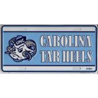 "6 "" X 12 "" Carolina Tar Heels License Plate"