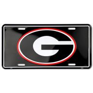 "6"" X 12"" COLLEGIATE LICENSE PLATE - GEORGIA"