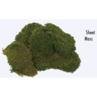 8 oz Bag Sheet Moss - Green (7490.00.08)