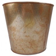 "9 "" Metal Rust Planter"