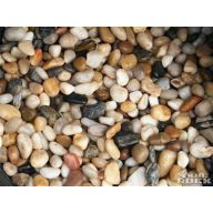 POLISHED RIVER PEBBLES 1.75 LBS.