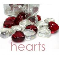 HEART ROCK-WHITE/RED