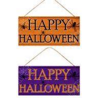 "12.5 "" L X  6 "" H Happy Halloween Assortment"