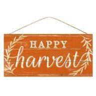 "12.5 "" L X 6 "" W Happy Harvest - Orange / White"