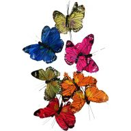 "3.5 "" Assorted Butterfly ( Bx 12 )"