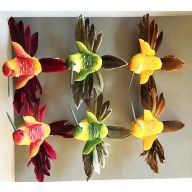 "4 "" Humming Bird Assorted  ) 3 x 4 x 1.5 """