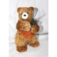 "5.5 x 5.5 9.5 "" Standing Bear - Brown"