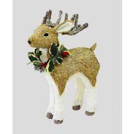 Deer W/Horns 6.75X3.5X14.25