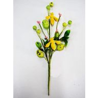 "Berry/Egg Pick 10.63"" - Yellow / Green"
