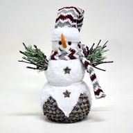 """11.5"""" X 6.25"""" X 13.75"""" Snowman"""