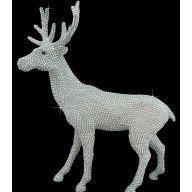 "20.5 "" Diamond Deer - Silver"