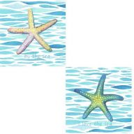 Starfish Canvas Art ( 2 assorted )