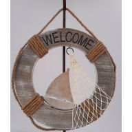 "11.5 "" Ships Wheel Plaque"