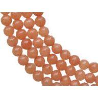 40mm X 100 ' Bead Garland - Peach