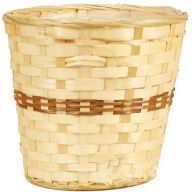 Bamboo Pot Basket w/ Liner