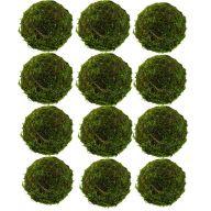"""Set of 12 2 """" Moss Balls"""