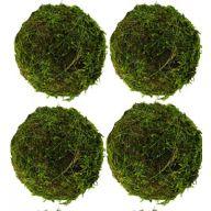 """6 """" Moss Balls - Set of 4"""