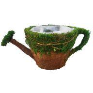 """10.5 x 16.25 x 4.75 """" Watercan Moss Planter"""