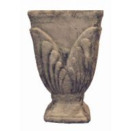 Tall Square Footed Vase