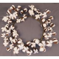 "22 "" Polyester Cotton Wreath"