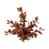 X9 Laurel Leaf Hanging Bush w/ Berries - Red / Burgundy