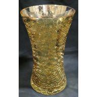 "5.75 x 9.75 "" Tall Vase - Gold"
