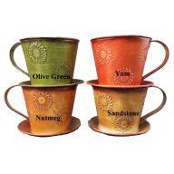 Olive Green , Yam , Sandstone , Nutmeg