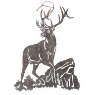 Metal Elk - Galvanized Bronze