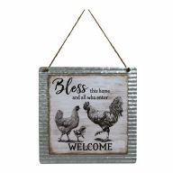 """Bless this home and all who enter - WELCOME"""