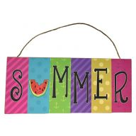 Mdf Sign With Rope Summer 12X5
