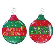 """12.5 """" Metal Christmas Ornament"""