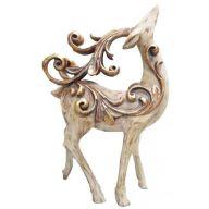 """Resin Reindeer Standing 7.5 X 3.5 X 12.5 """""""