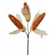 "12.5 "" Beaded Corn Pick X3"