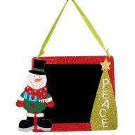 Hanging Snowman Chalkboard