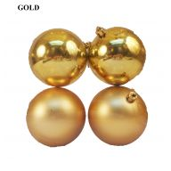 80mm Ball Ornament - Gold ( Box of 4 )