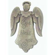 5X5X8 ANGEL RESIN GOD BLESS YOU