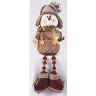 "16 "" Sitting Snowman Camo"