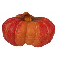 "14.25 X 7.5 "" Triple Pumpkin - Orange / Red"